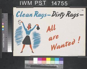 Clean Rags - Dirty Rags