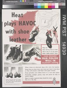 Heat Plays Havoc with Shoe Leather