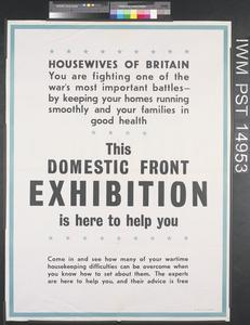 Domestic Front Exhibition