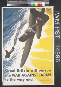 Great Britain Will Pursue the War Against Japan to the Very End