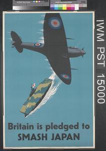 Britain is Pledged to Smash Japan