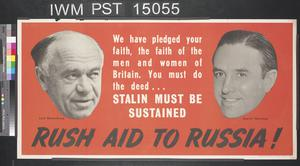 Rush Aid to Russia