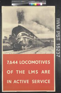 7,644 Locomotives of the L.M.S. are in Active Service