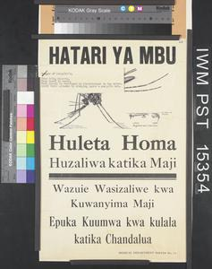 Hatari ya Mbu [Mosquito Danger]