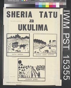 Sheria Tatu za Ukulima [Three Laws of Agriculture]