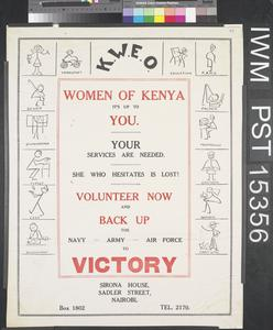 Women of Kenya - It's Up to You