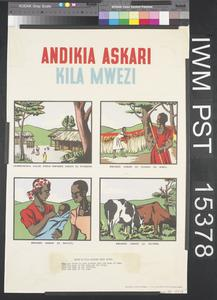 Andikia Askari Kila Mwezi [Write to a Soldier Every Month]