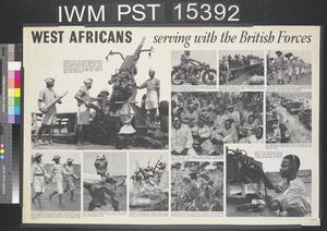 West Africans Serving with the British Forces