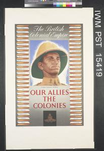 Our Allies the Colonies - Ceylon Garrison Artillery
