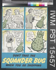 Don't Take the Squander Bug When You Go Shopping