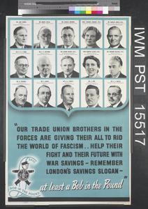 Our Trade Union Brothers in the Forces are Giving their All to Rid the World of Fascism