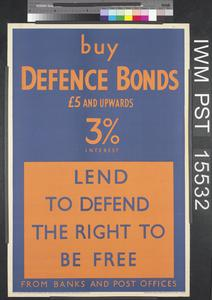 Buy Defence Bonds