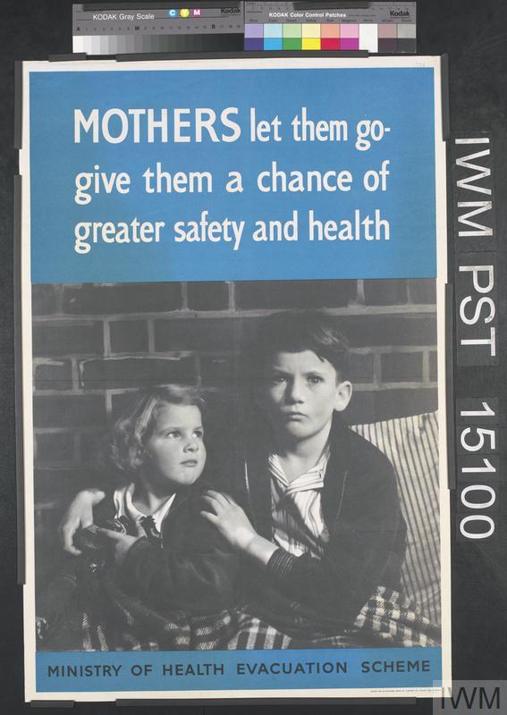 Mothers Let Them Go Art Iwm Pst 15100