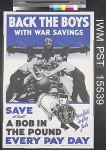 Back the Boys with War Savings