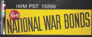 But National War Bonds