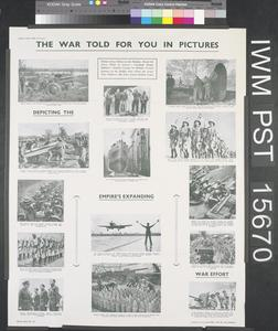 The War Told for You in Pictures - Depicting the Empire's Expanding War Effort