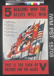 Five Reasons Why the Allies Will Win