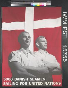5000 Danish Seamen Sailing for the United Nations
