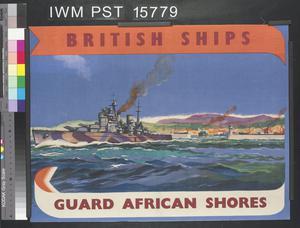 British Ships Guard African Shores