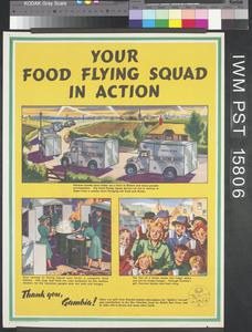 Your Food Flying Squad in Action