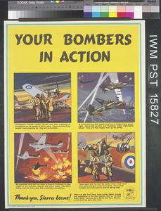 Your Bombers in Action
