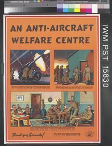 An Anti-Aircraft Welfare Centre