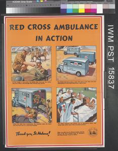 Red Cross Ambulance in Action