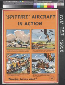'Spitfire' Aircraft in Action