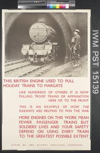 This British Engine Used to Pull Holiday Trains to Margate