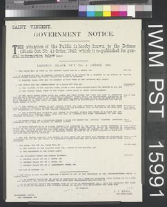 Government Notice