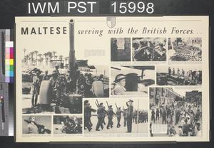 Maltese Serving with the British Forces