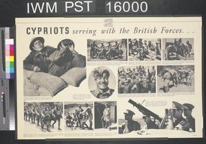 Cypriots Serving with the British Forces