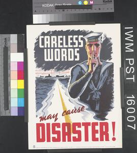 Careless Words May Cause Disaster!
