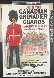Join the Canadian Grenadier Guards