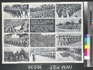 Homens de Todos os Cantos da Communidada de Nações Britânicas [Men from Every Corner of the Commonwealth of British Nations]