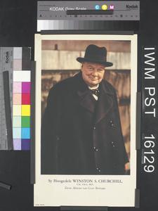 Sy Hoogedele Winston S Churchill