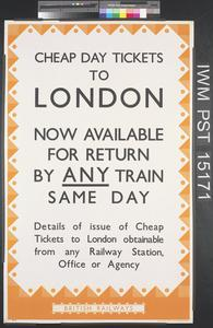Cheap Day Tickets to London
