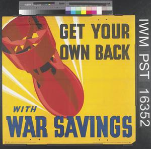 Get Your Own Back With War Savings