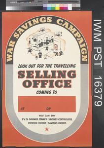 Look Out for the Travelling Selling Office