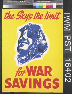 The Sky's the Limit for War Savings