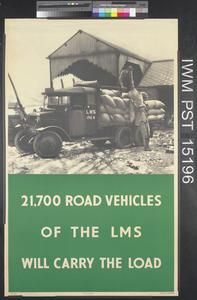 21,700 Road Vehicles of the L.M.S. will Carry the Load