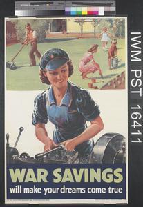 War Savings Will Make Your Dreams Come True