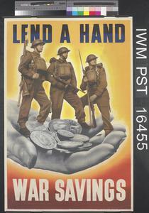Lend a Hand - War Savings