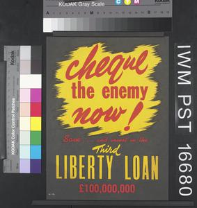 Cheque the Enemy Now!