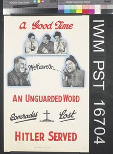A Good Time - An Unguarded Word - Hitler Served