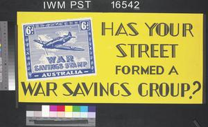 Has Your Street Formed a War Savings Group?