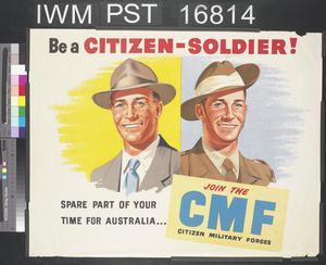 Be a Citizen-Soldier!