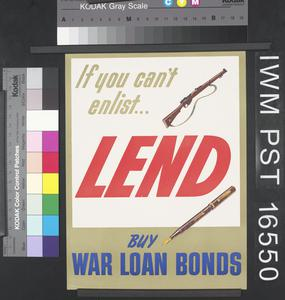 If You Can't Enlist ... Lend