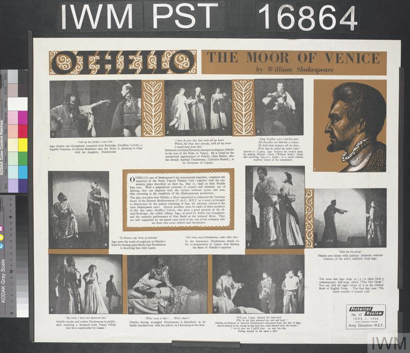 a description of othello the moor of venice Abebookscom: the tragedy of othello with connections: the moor of venice (9780030573026) by william shakespeare and a great selection of similar new, used and collectible books available now at great prices.
