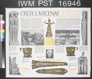 Crete and Mycenae - The Beginnings of Greek Art